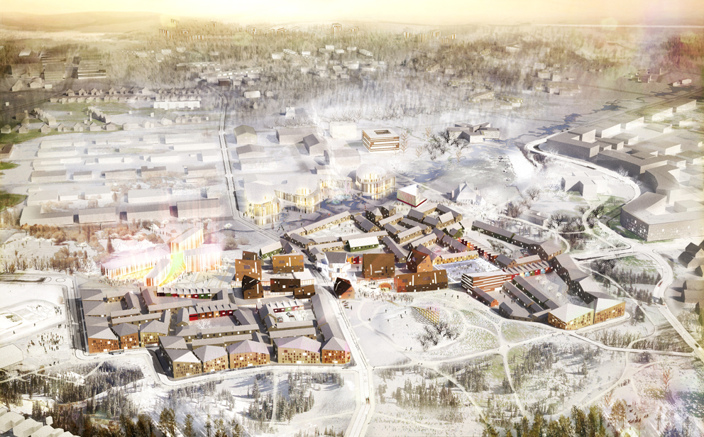 Kiruna New City Center